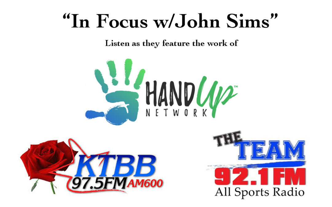 Hand Up Network featured on East Texas Radio!